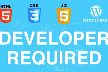 Experienced Front-End Web Developer Required